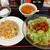 中華料理 大陸 - 冷しタンタン麺&半チャーハン 全景