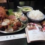 中国料理 ちゅん - 定食 840円
