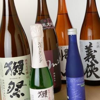 【日本酒】 【焼酎】 こだわっています。