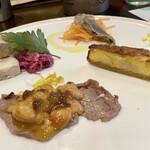 燕三条イタリアンBit - 前菜4種盛り合わせ  ランチセットとは別にオーダーしました♪