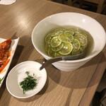浅草焼肉 たん鬼 - 柚子冷麺ハーフ
