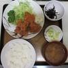 Hisaya - 料理写真:鶏唐揚定食
