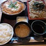 番田 満留賀 - かつ煮定食