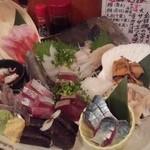 魚金 - 2012.5 刺身6点盛り(2,728円)