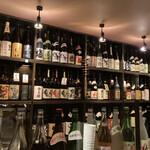 横浜風しゃぶしゃぶ鍋と焼酎・地酒居酒屋 甕仙人 関内蔵 - 焼酎もたくさん