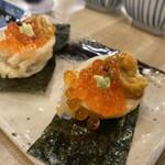 Tempurasakaba agarushouten - ウニいくら卵天