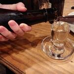広島焼 とし - 廣島の酒  宝剣  850円  飲みやすく美味い 郷に入っては郷に従え