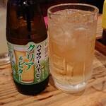 広島焼 とし - ハイッピー ホッピーを薄くしてレモン味がプラスされてる だが、味は白水社っぽいぞ~