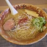 麺匠 八雲 - 味噌ラーメン(麺大盛り)