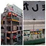Hokkaidoubussan - 左:伊勢丹の宝くじ売り場付近から同店(5F)が入るビル 右:店内から伊勢丹の宝くじ売り場を望む