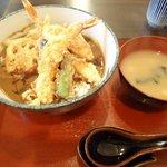 はま天。 - 海老天カレー丼¥700