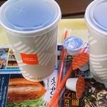 ファーストキッチン - アイスコーヒー