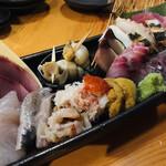 魚貝 ののぶ - 贅沢なさし盛