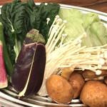 hinabemita - 季節の野菜セット。
