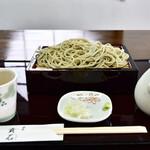 蕎麦貴石 - せいろ蕎麦@800円