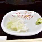 蕎麦貴石 - 【せいろ蕎麦@800円】薬味
