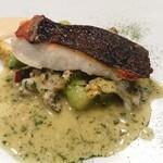 TRATTORIA CREATTA - メイン魚料理 鰈のポワレ