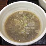 餃子の並商 - 昆布水煮干しつけ麺つけ汁