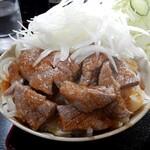 三州屋 - 山形牛ステーキ丼