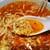 麺処 ぱちぱち - 料理写真:溶き卵と挽肉