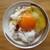 野上養鶏場 - 料理写真:醤油を垂らす