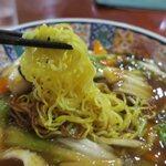 古戦場 - 細麺です
