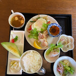 サバァイ - ハーフセット(¥1250)