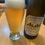 133341569 - フリードリンクのビールは瓶!冷え冷え!!