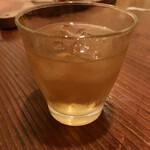 欧風食堂 Tout Va Bien - 「ワイルドターキー8年(バーボン・アメリカ)水割り」@500(税別)