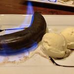 欧風食堂 Tout Va Bien - 「燃えるバナナとアイスクリーム」@580