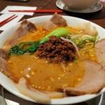 ヌードルダイニング 道麺 - 担々麺、チャーシュートッピング
