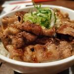 ヌードルダイニング 道麺 - カルビ丼