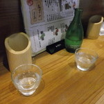 13335091 - 名物マジック凍結酒です。今日も凍りました。