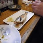13335102 - 魚もんも充実してますね。連れが注文しました。