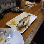 13335117 - 魚もんも充実してますね。連れが注文しました。早よ食わんかいな(笑)