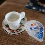 畑のてんとうむし - (2020/6月)ドリンク用のミルクとシロップ