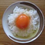 卵の里  地黄卵 - 地黄卵TKG