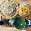 秋月庵 三次郎 - 料理写真:かき揚げざるそば…1410円