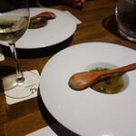 133362123 - イベリコ豚のスープ