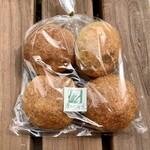 麦わらぼうし - 【買ったパン】ほのかのパン 350円/4個入