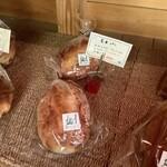 麦わらぼうし - 【買ったパン】玄米パン 350円/1本