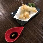 加藤商店 - 長芋と塩昆布の春巻き