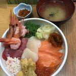 小樽ポセイ丼 - ポセイ丼¥2.200