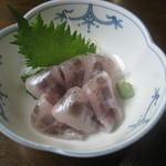 華山 - メヒカリの刺身
