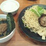追風丸 - 魚介醤油つけ麺750円