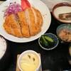小名浜 - 料理写真:幻の黒豚ロースカツ定食 2,100円