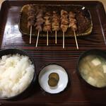 Koganeya - 焼き鳥定食