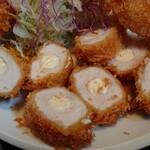 小名浜 - チーズチキンカツ