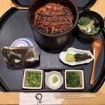 Maruyahonten - 上ひつまぶし(3,500円+税)             肝吸変更(137円+税)