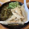 長住うどん - 料理写真:高菜うどん+ごぼう天